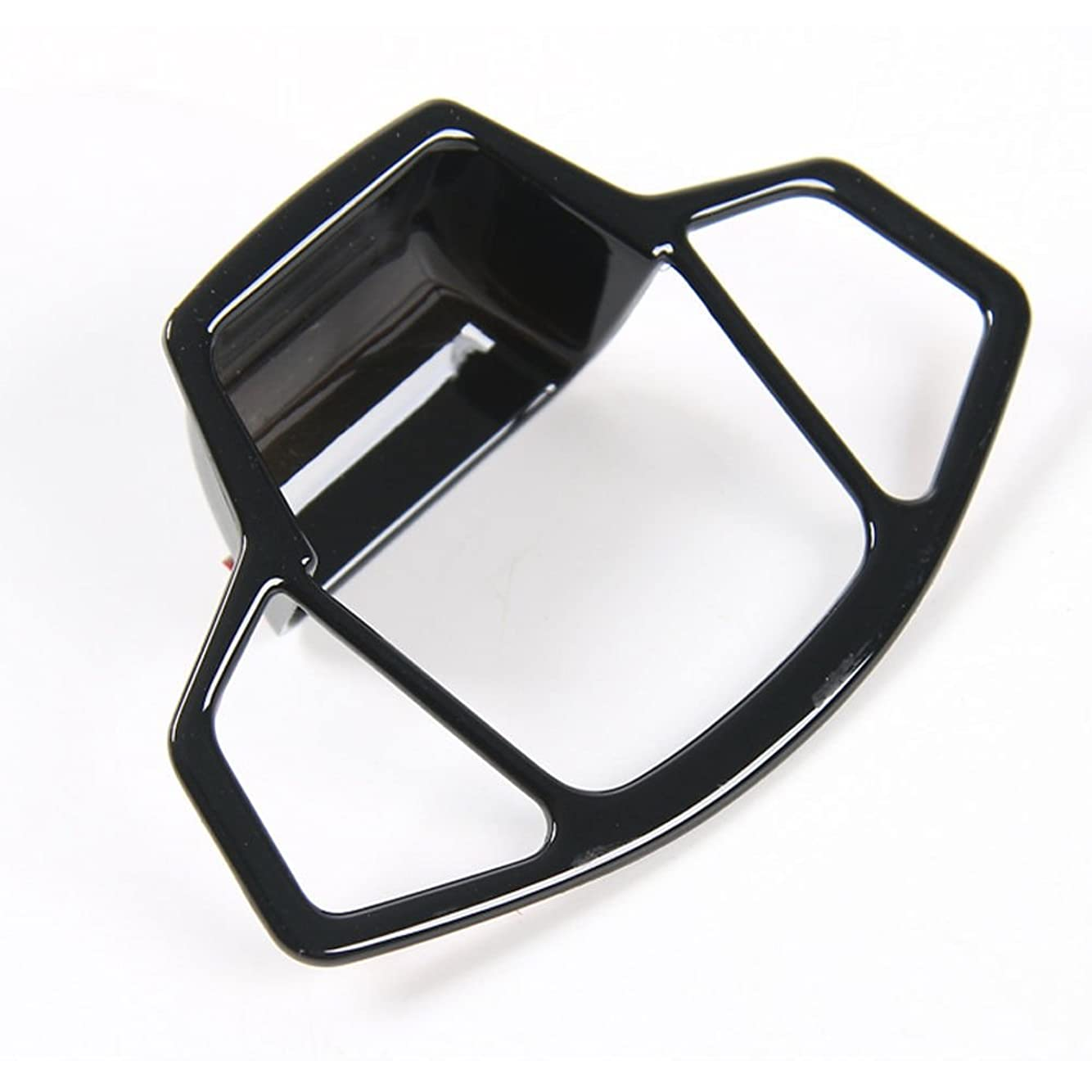 パックまたはどちらかホテルJicorzo - Car Electronic Handbrake Parking Button Cover Trim Black For Jeep COMPASS 2017-2018 Car Interior Accessories Styling