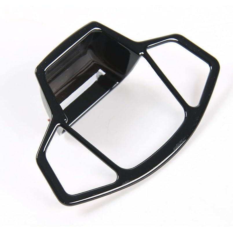 犠牲猟犬ビジュアルJicorzo - Car Electronic Handbrake Parking Button Cover Trim Black For Jeep COMPASS 2017-2018 Car Interior Accessories Styling