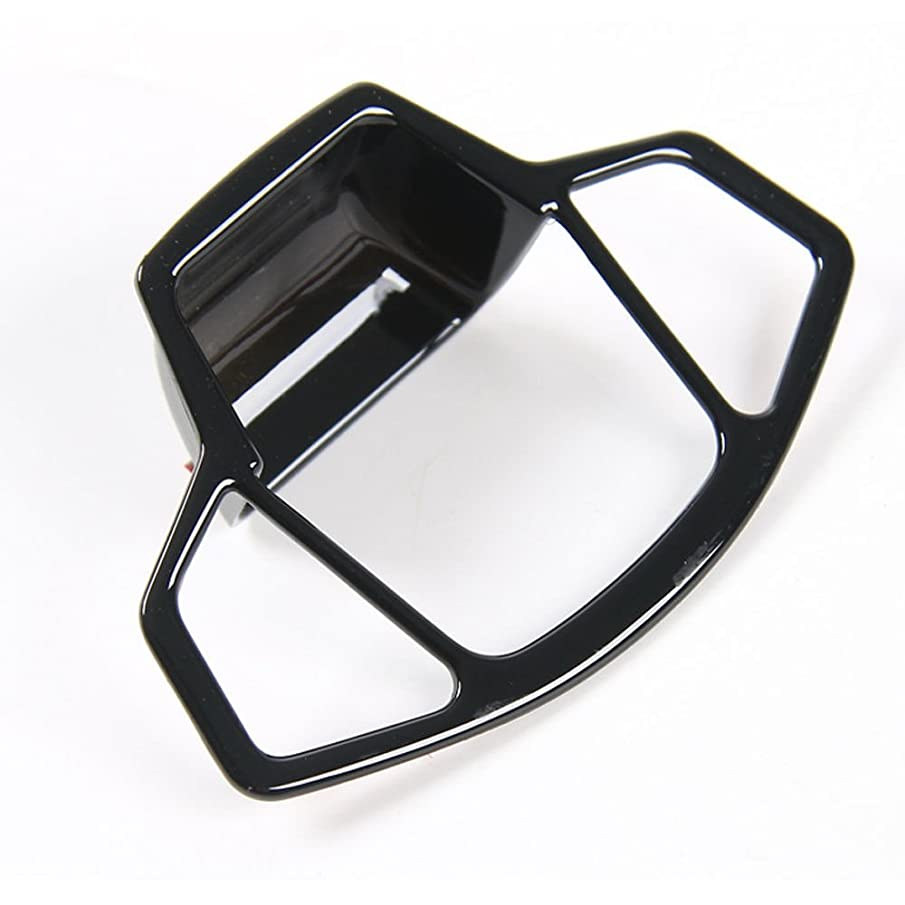 スマイルストッキング言語学Jicorzo - Car Electronic Handbrake Parking Button Cover Trim Black For Jeep COMPASS 2017-2018 Car Interior Accessories Styling