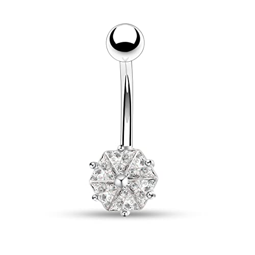 Diamond Belly Rings Amazon Com