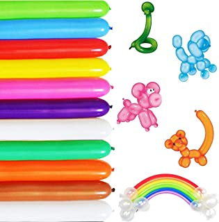 Long Balloons For Balloon Animals Twisting Balloons - 100pcs Balloon Animal Kit 260q Balloons Magic Balloons for Birthday Party Decorations