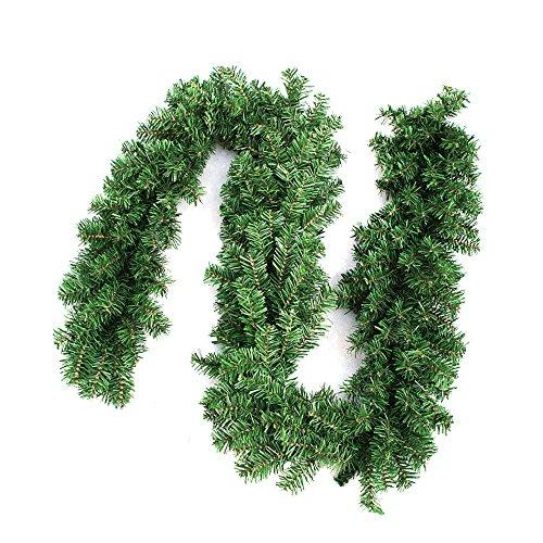 2.7M Weihnachtsgirlande Tannengirlande Weihnachten Girlande Weihnachtsdeko