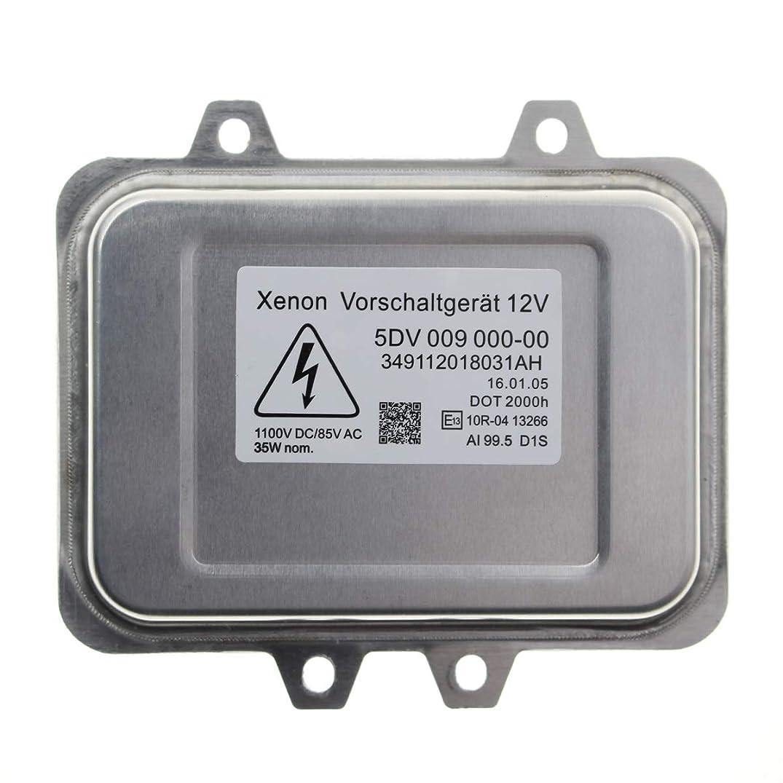 MOTOALL Xenon HID Headlight Ballast Control Unit Module Head Light for D1S D1R Bulb Lamp BMW 5-series E60 E60N E61 E61N E65 E66 7-series E70 X5 E71 E72 X6 63126937223 6937223 VW Volkswagen 5M0907391