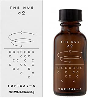 The Nue Co. - Natural Topical - C | Stabilized Powdered Vitamin C For Skin (.49 oz | 15 g)