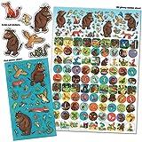 Paper Projects 01.70.22.014 The Gruffalo Mega Paquete de pegatinas , color/modelo surtido