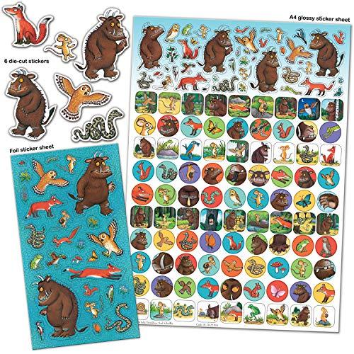 Paper Projects 01.70.22.014 The Gruffalo Mega Sticker-Set