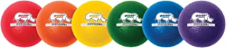 Champion Sports Rhino Skin Low Bounce Dodgeball Sets- Multiple Colors and Unique Styles