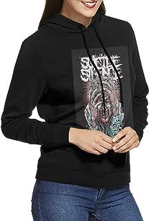 ZJWZJW Suicide-Silence Harajuku Black Womens Pullover Hoodie Long Sleeve Tee