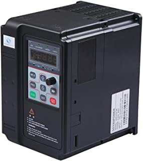 LAPOND High Performance VFD Inverter VFD Drive 2.2KW 220V 3HP 9.6A,Variable Frequency Drive for Motor Speed Control,SVD-PS Series