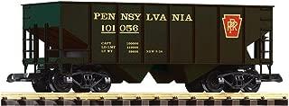 PIKO G SCALE MODEL TRAINS - PRR RIB-SIDE HOPPER 101056 BRUNSWICK - 38821