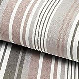 Outdoor Tessuto per sedia a sdraio Righe longitudinali, 44 cm – grigio — Vendita al me...