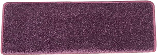 HAIPENG Self Adhesive Stair Treads Carpet Pads Mats Non-Slip Step Rugs Fuchsia, 12mm, Customize, 2 Sizes, 2 Types (Color :...