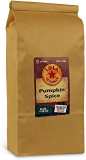 Lola Savannah Pumpkin Spice Ground Coffee - Delicious Taste Of Autumn Spice & Smooth Richness | Caffeinated | 2lb Bag