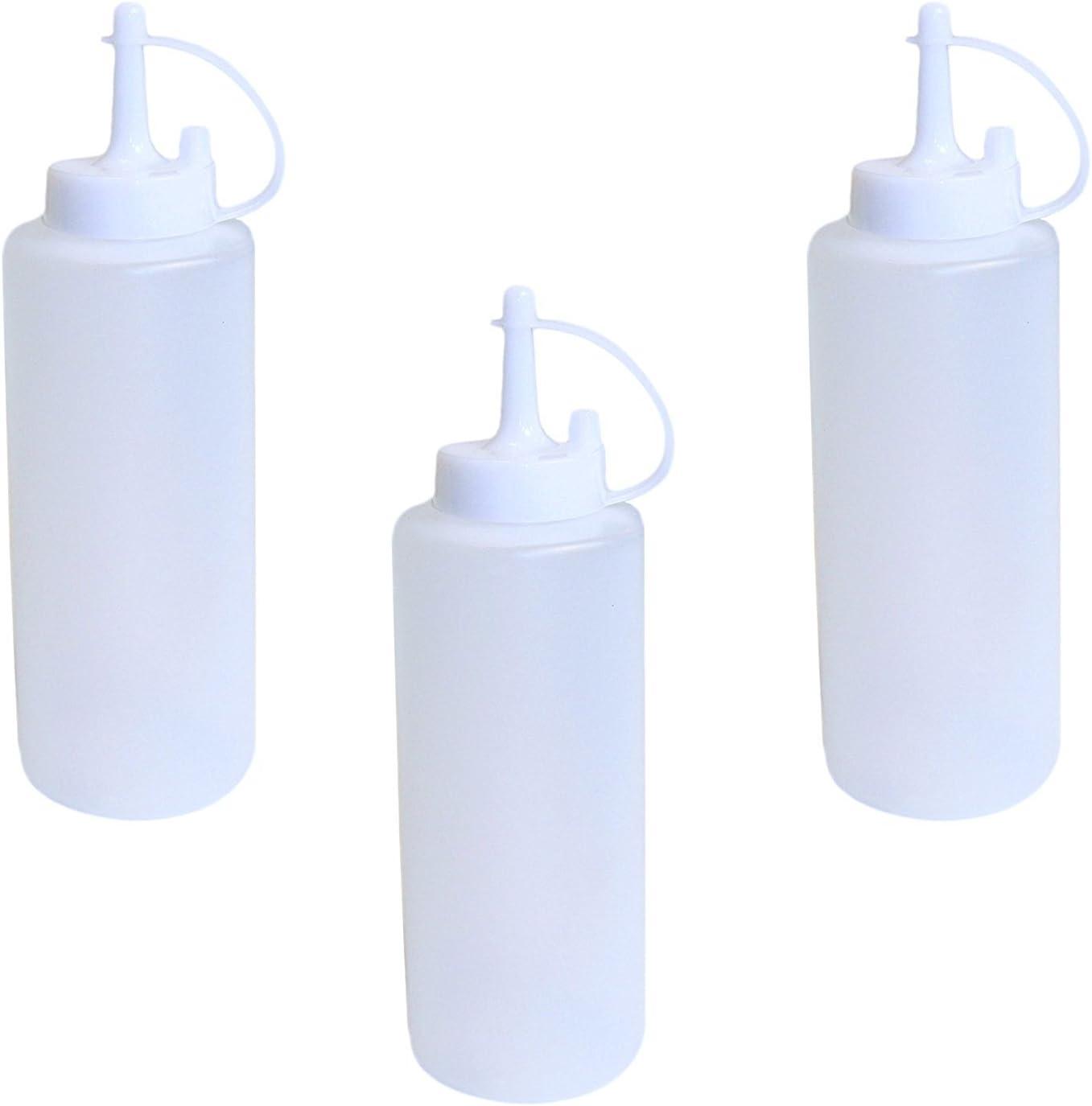 Chef Craft Set Sales of 3 Austin Mall Plastic BBQ Caps Disp Squeeze Ketchup Sauce