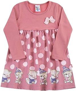 Vestido Cravo Primeiros Passos Menina Cotton 38613-385