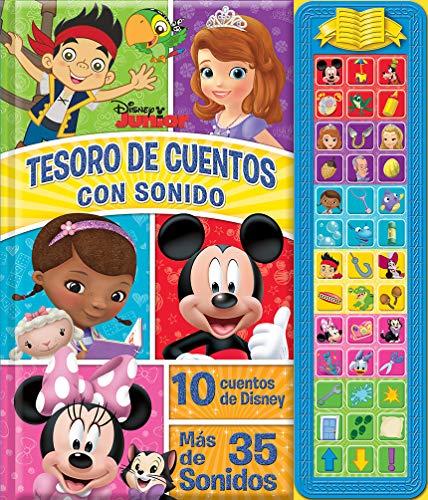Tesoro De Cuentos Con Sonidos Disney Junior (SD TREASURY)