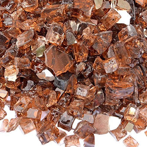 Big Save! onlyfire Reflective Fire Glass for Natural or Propane Fire Pit, Fireplace, or Gas Log Sets...