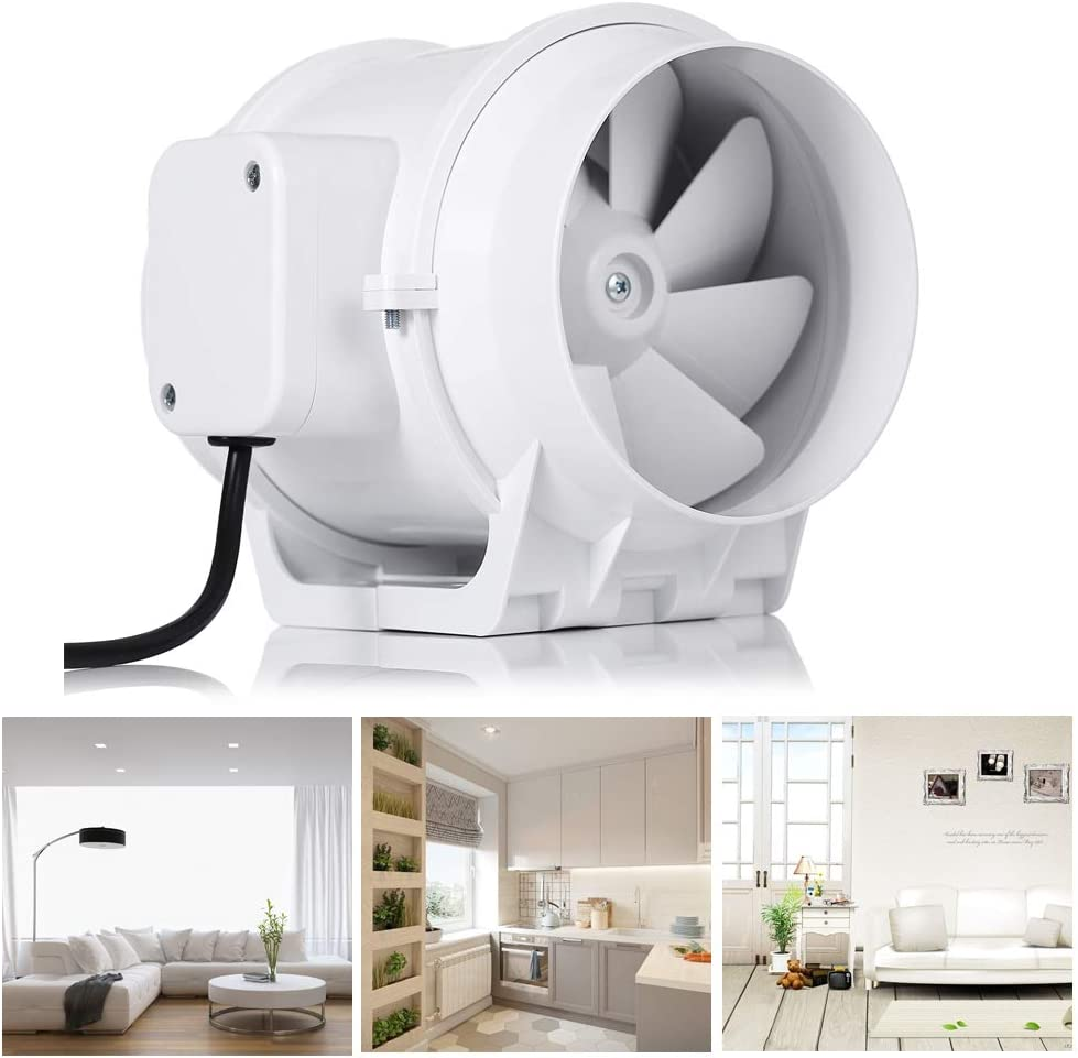 Buy Hon&Guan 20 Inch Extractor Fan High Efficiency Mixed Flow ...