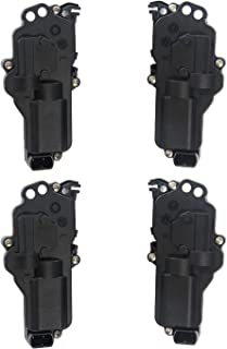Power Door Lock Actuators Kit Set of 4 | for Ford F150, F250, F350, F450, F550, Excursion, Expedition, Mustang, mazda | # 6L3Z25218A43AA, 6L3Z25218A42AA