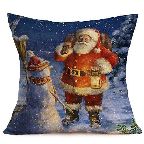 ⭐LIM&SHOP⭐ Pillow Cover Decorative Floral Print Cloth Decorative Cushion Cover Throw Pillow Covers,Home Brilliant Throw