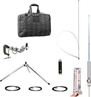 Super Antenna MP1DXTR80 HF SuperWhip Tripod All Band 80m MP1 Antenna with Clamp Mount and Go Bag ham Radio Amateur