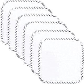 پارچه های دستشویی ارگانیک بامبو ، 6 بسته ، پارچه دارای گواهی ارگانیک Ultra-Soft ، نرم و لطیف روی پوست حساس برای صورت و بدن ، مخمل خواب دار ، فوق العاده جاذب برای دختران و پسران توسط Comby Cubs