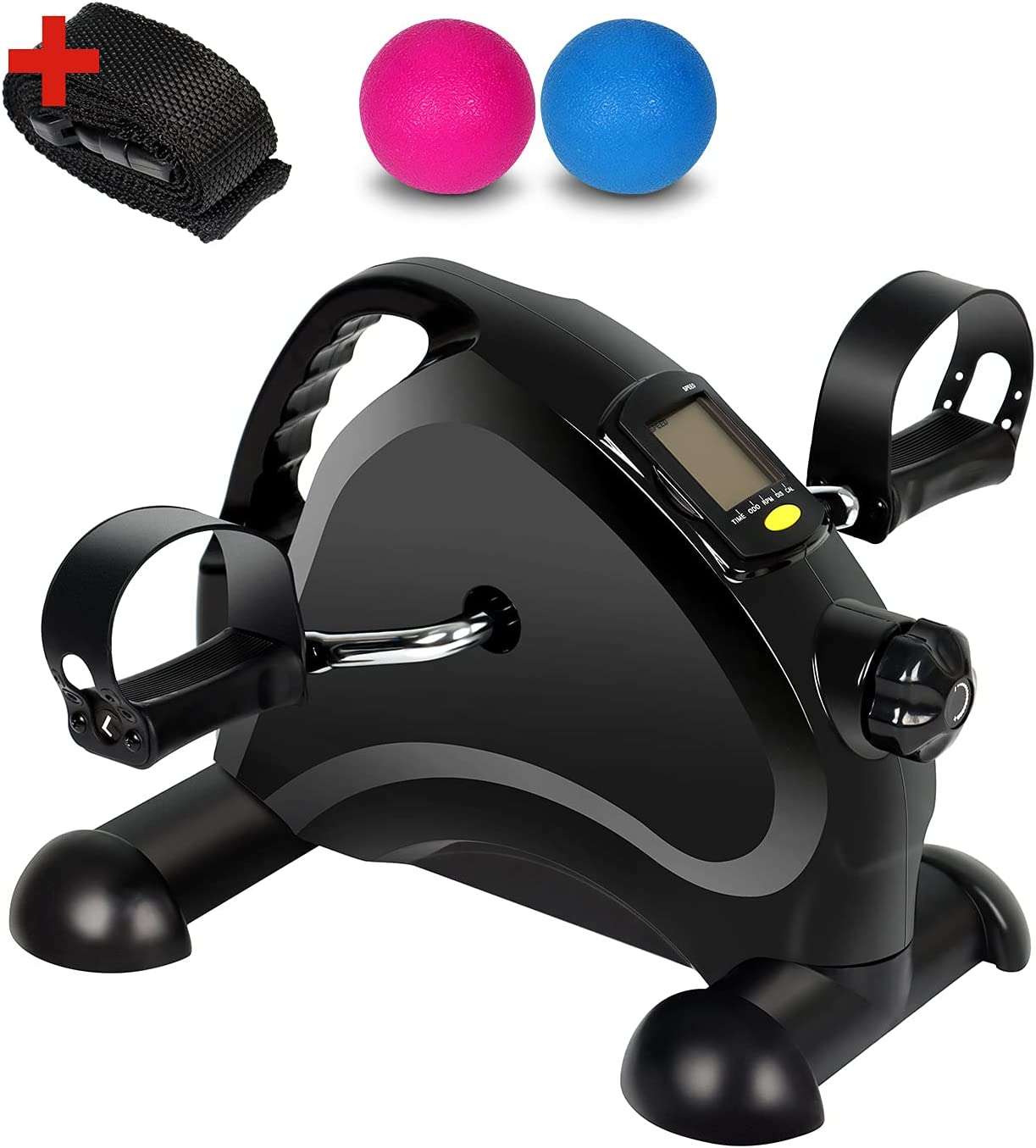 WELYAS Pedal Exerciser Portable Spring new work one after another Mini Topics on TV B Exercise Peddler