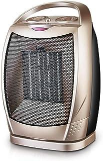 H&RB Mini PTC Cerámica Espacio Calentadores De Escritorio Calefactor De Ventilador De Calor De Invierno Calentador De Cerámica Oscilante Portátil con Termostato