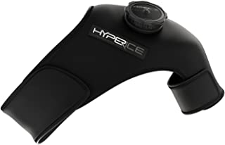 HYPERICE Pro Shoulder Ice Wrap, Left - Reusable ice compression wrap with patented air-release valve to harness the power ...