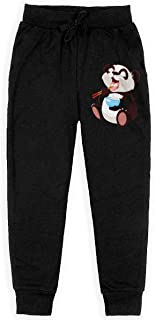 Yuanmeiju Cute Panda Boys Pantalones Deportivos,Pantalones Deportivos for Teens Boys Girls