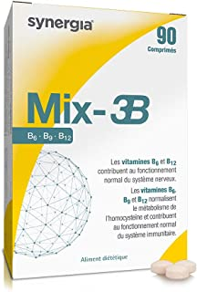 ⚡︎ Mix-3B ⚡︎ - Vitamina B (B6. B9. B12). Vitamina C. Vitamina E - Origen Francia