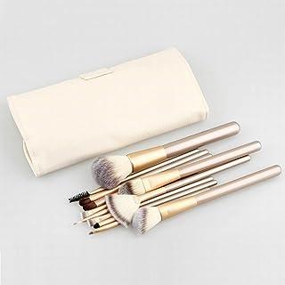 Set Brochas de Maquillaje luxuryv color cava champan 24pcs
