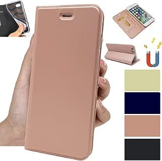 OnePlus 5 ケース 手帳型 OnePlus 5携帯カバー OnePlus 5 スマホケース OnePlus 5カバーJaorty内蔵マグネット カードポケット スタンド機能 PUレザー 超薄型 人気 おしゃれ4色-ピンク