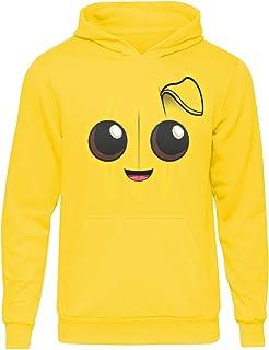 Sudadera con capucha para niños Peely Banana Smiley Face Sudadera con capucha