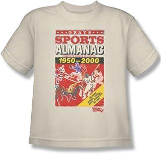 Back To The Future II - Regreso al futuro II - Deportes Juventud Almanaque Camiseta En Crema