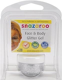 Snazaroo Glitter Gel 12ml Clam Pack - Silver