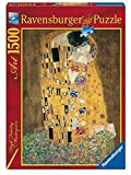 Ravensburger - 1,500 Pieces Jigsaw Puzzle - Klimt : The Kiss by Ravensburger