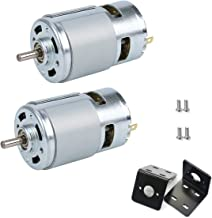 Durable 6V775 Motor Strong Electrical Conductivity Low Noise DC 775 Motor High Torsion for DIY Power Equipment