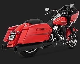 Vance & Hines 17-19 Harley FLHX2 Power Duals Headpipe System (Black)