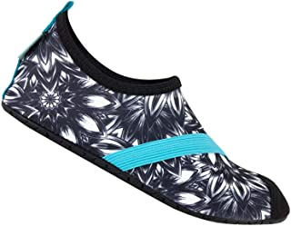 FitKicks Original Women's Foldable Active Lifestyle Minimalist Footwear Barefoot Yoga Sporty Water Shoes