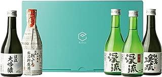 遠藤酒造場 日本酒 飲み比べ セット 300ml ✕ 5本