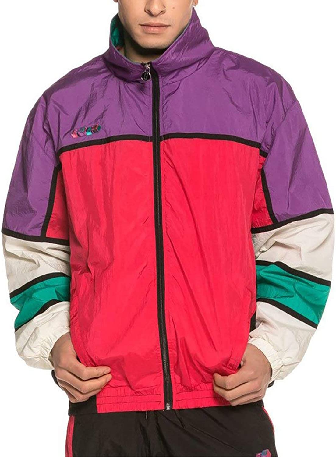 Grimey Brick Top Track top Men Purple