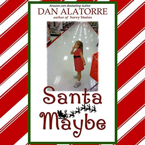 Santa Maybe audiobook cover art