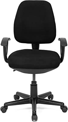 Nilkamal Mars Office Chair, Black