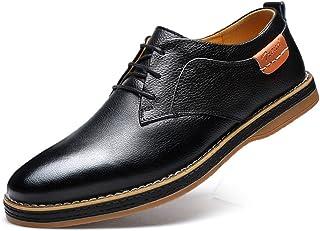 MAXTEC カジュアルシューズ ビジネスシューズ メンズ 本革 レースアップ 革靴 紳士靴