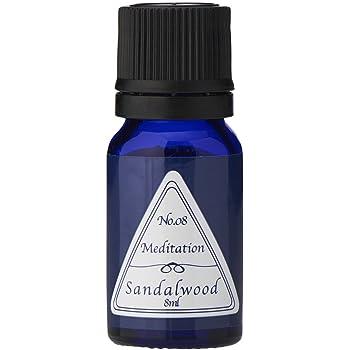 ブルーラベル アロマエッセンス8ml サンダルウッド(アロマオイル 調合香料 芳香用)