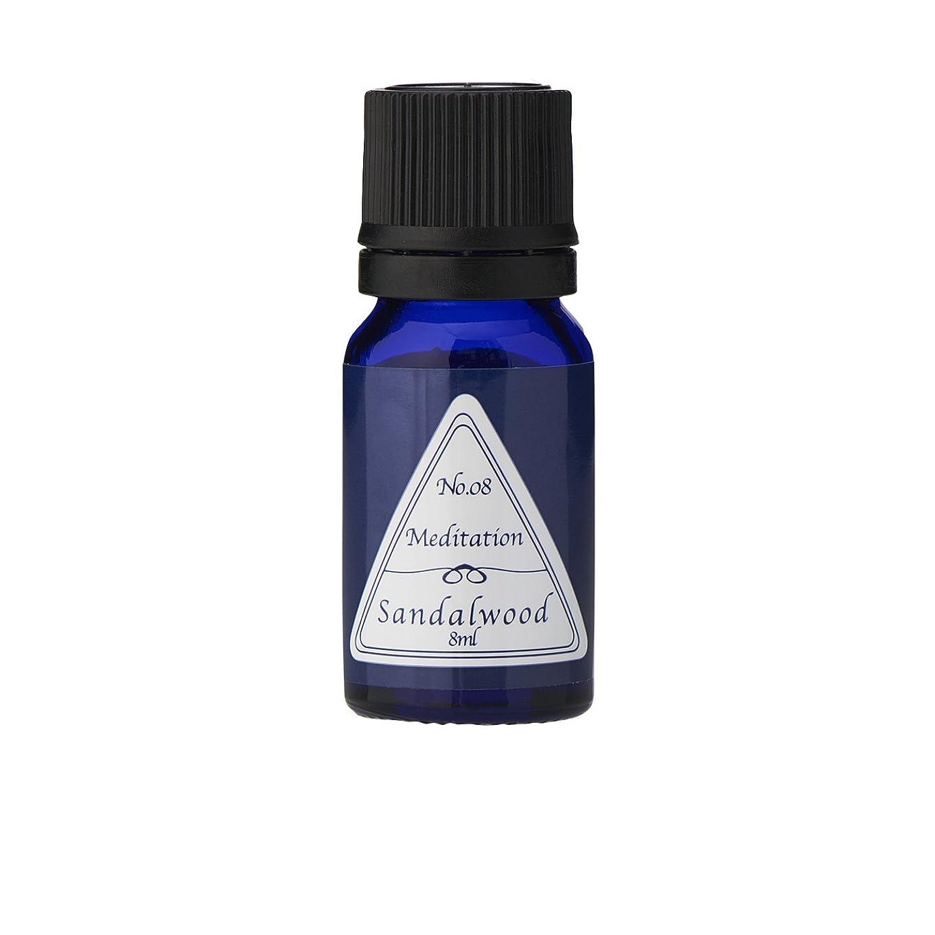 南西肥料ラジエーターブルーラベル アロマエッセンス8ml サンダルウッド(アロマオイル 調合香料 芳香用)