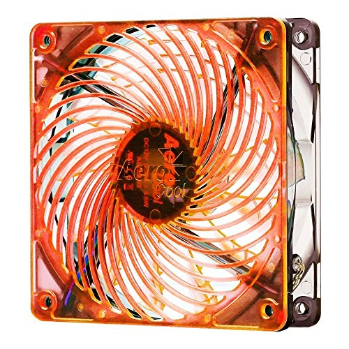 Aerocool Air Force LED ventilator 140 mm oranje