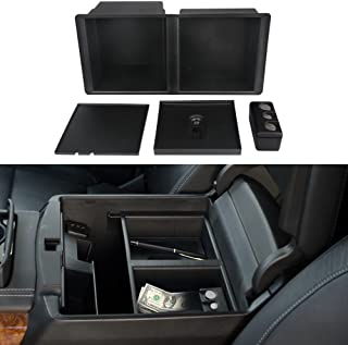 VANJING Center Console Insert Organizer Tray for Select 2014-2018 GM Vehicles Silverado Sierra Suburban Tahoe Yukon Front Floor Insert Tray-Replaces 22817343