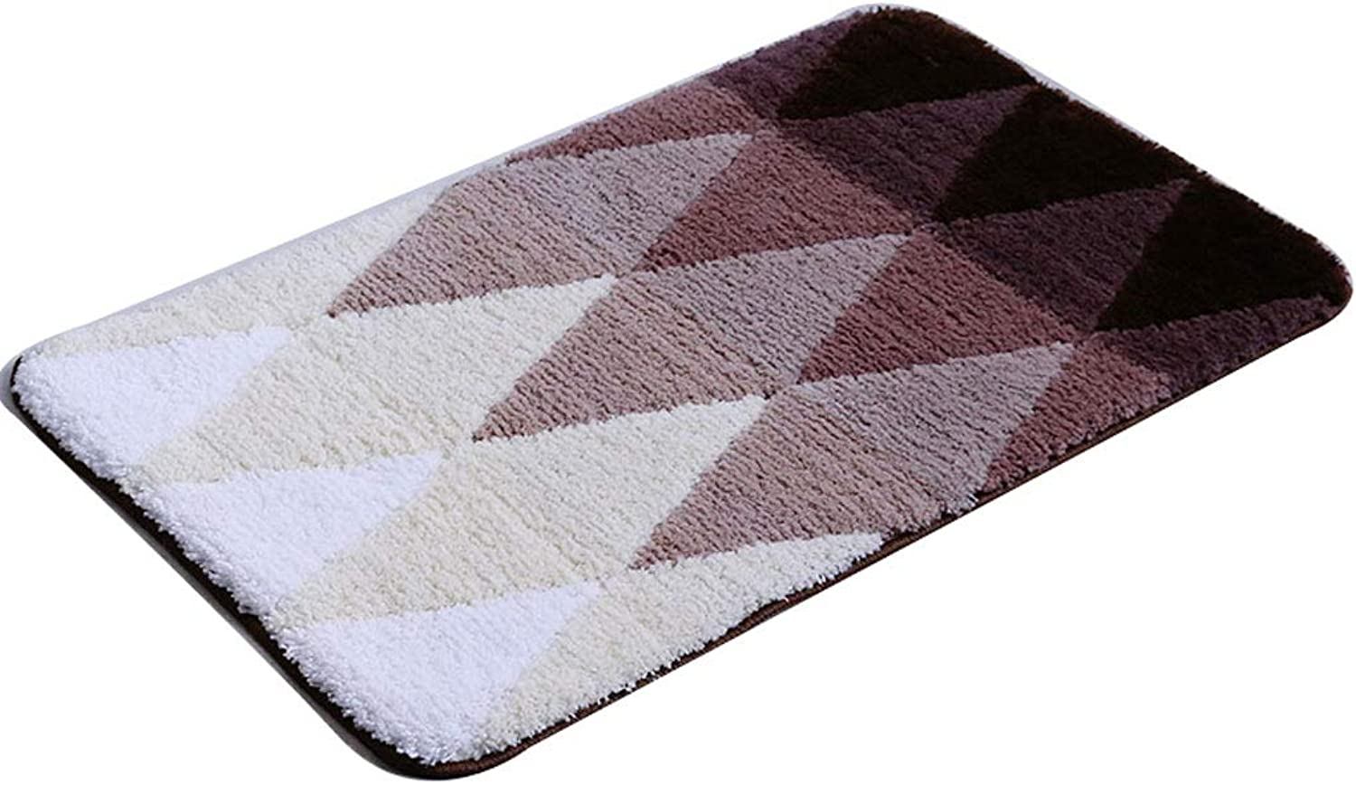 Bathroom Floor Mat Door Mat Door Mat Door Entrance Door Hall Anti-Skid Absorbent Bathroom Mat (can Be Cut) (color   D, Size   40cm60cm)
